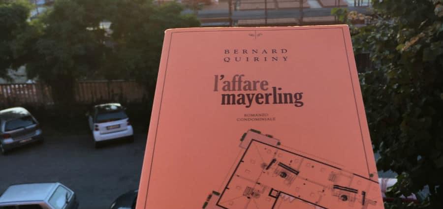 L'affare Mayerling - Bernard Quiriny