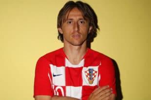 Gli occhi di Luka Modric