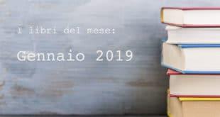 libri del mese, gennaio 2019
