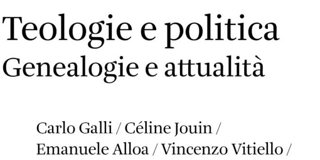 A cura di Elettra Stimilli - Teologie e politica Genealogie e attualità - Quodlibet