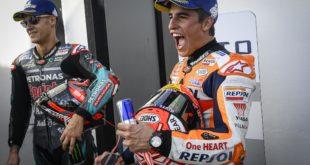 Marquez e Quartararo sul podio Misano 2019
