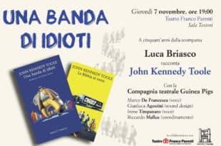 uca Briasco racconta John Kennedy Toole al teatro Franco Parenti