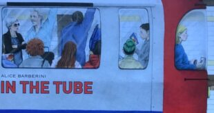 In the tube - Alice Barberini