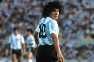 Maradona, i cinque gol più belli